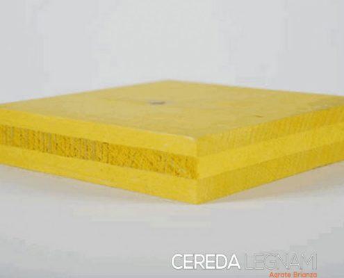pannelli legno giallo per armatura