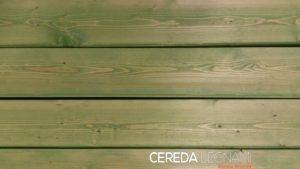 Perline e dogato di legno abete verniciato