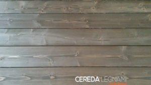 vendita di perline di legno spazzolato scuro per rivestimento