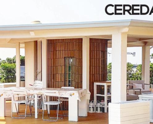 veranda in legno realizzata su misura