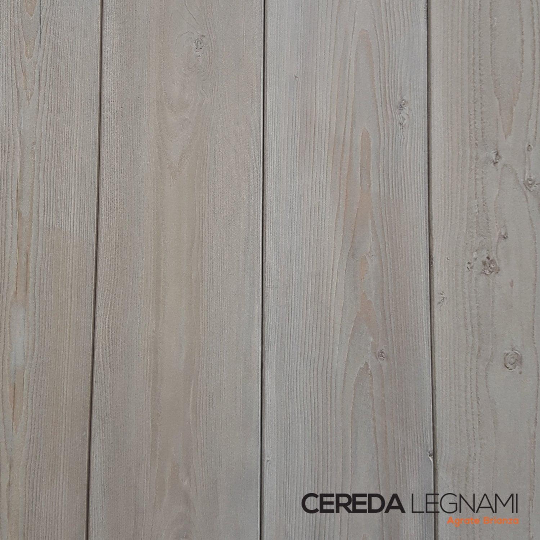 Perline in legno di abete verniciate cereda legnami for Rivestimento perline legno bianco