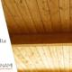 Copertura sottotetto con perline in legno chiaro di Cereda Legnami, Agrate Brianza.
