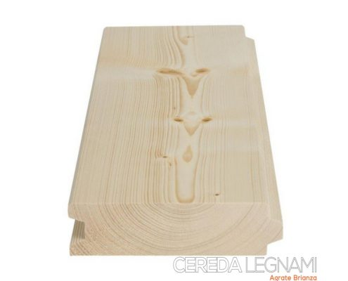 esempio di perlina legno abete di prima scelta in vendita