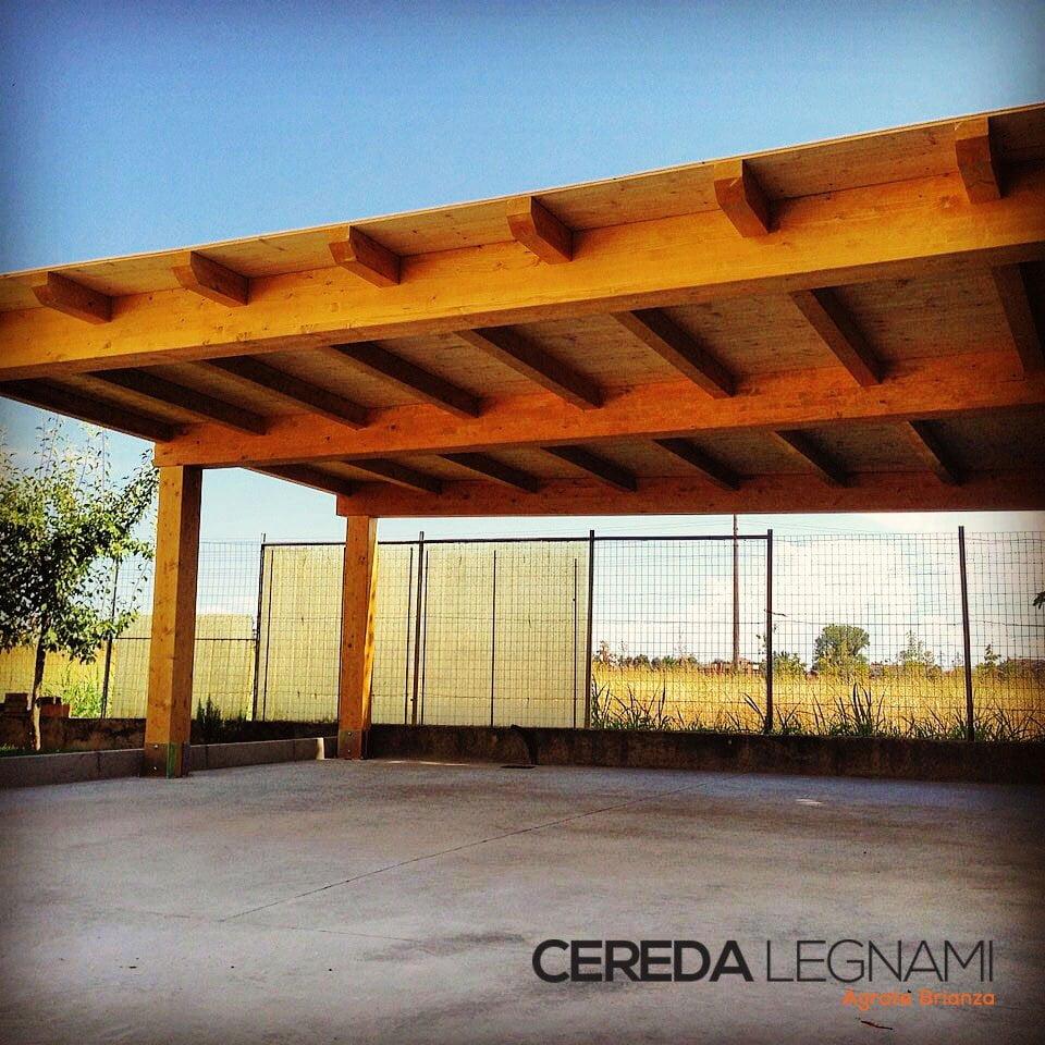 Solaio In Legno Lamellare Autoportante carport artigianale in legno lamellare - cereda legnami