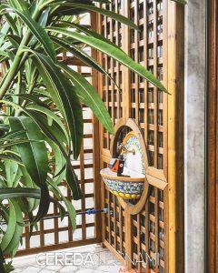 Griglie, grigliati e graticci in legno per piante rampicanti,