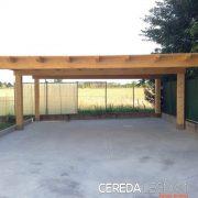 Carport in legno per auto. Fornitura e posa in opera a Milano, Monza, Lecco, Como e Varese