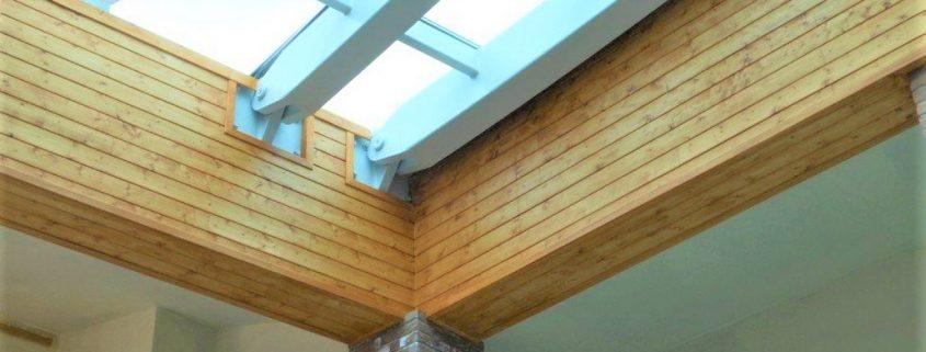 Perline in legno per rivestire ed isolare sottotetti, pareti e cantine