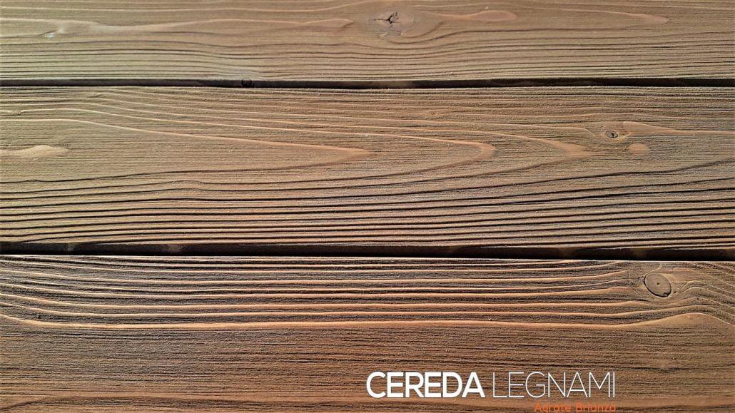 Perline in legno con lavorazione rustica