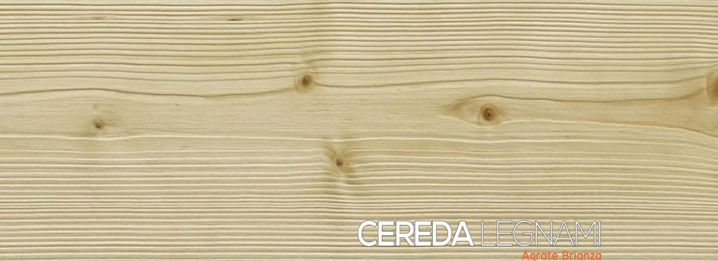 Perlina in legno spazzolata naturale senza vernice