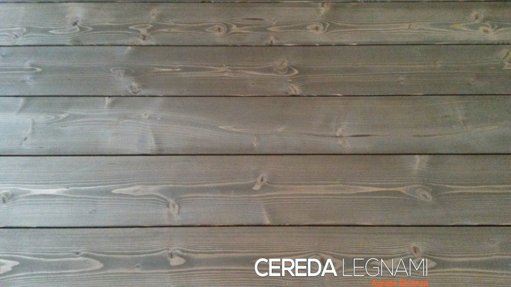 Perline in legno spazzolato scuro
