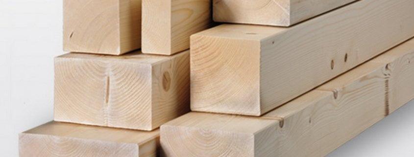 Travetti di legno massello d'abete
