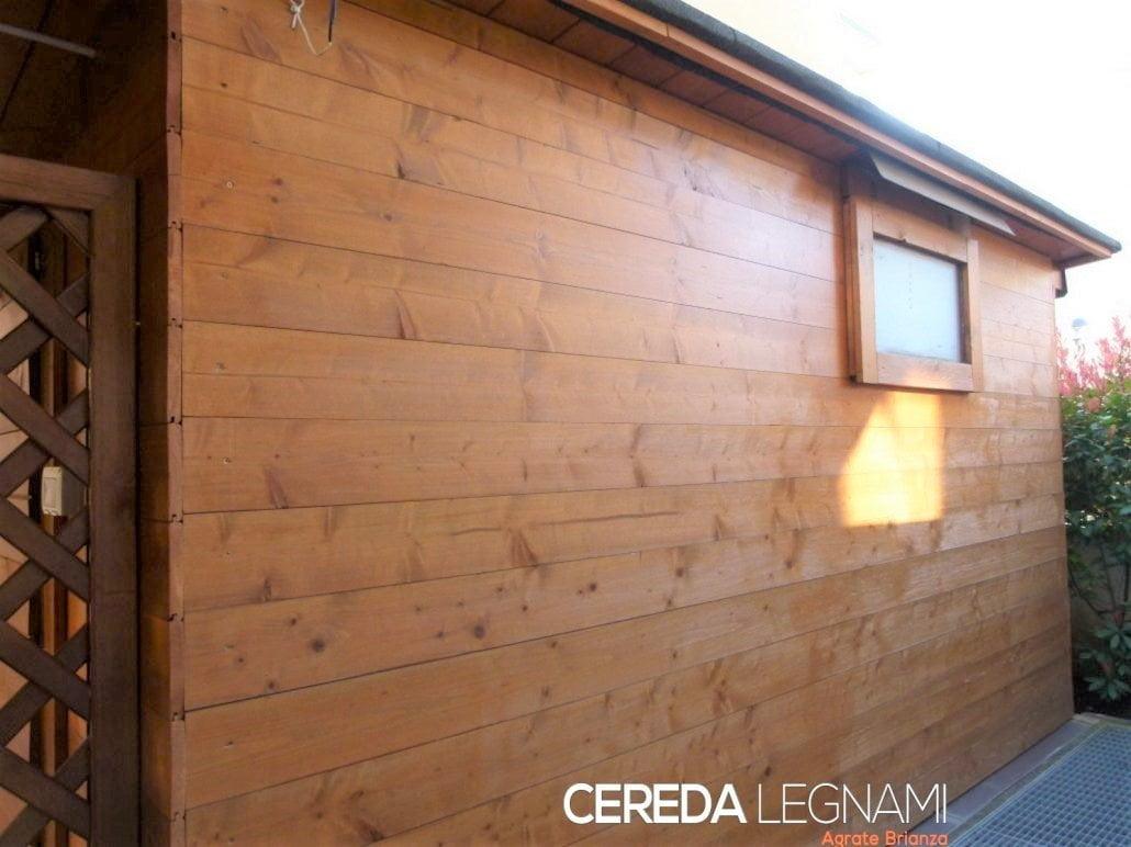 perline in legno come rivestimento da esterno