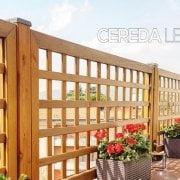 grigliati in legno per balconi e terrazzi