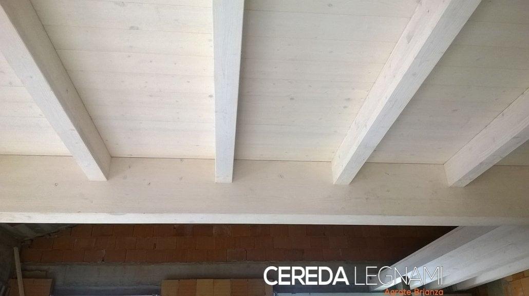 Soppalco il legno bianco di Cereda Legnami